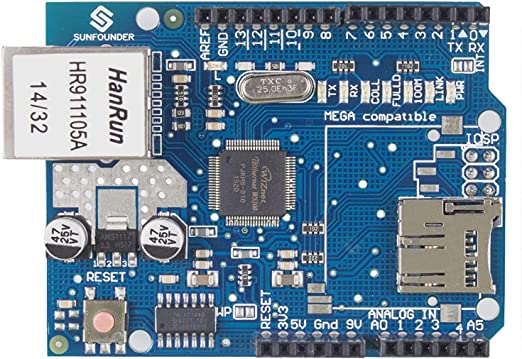 mejores accesorios arduino escudo ethernet - Los 11 mejores accesorios para Arduino