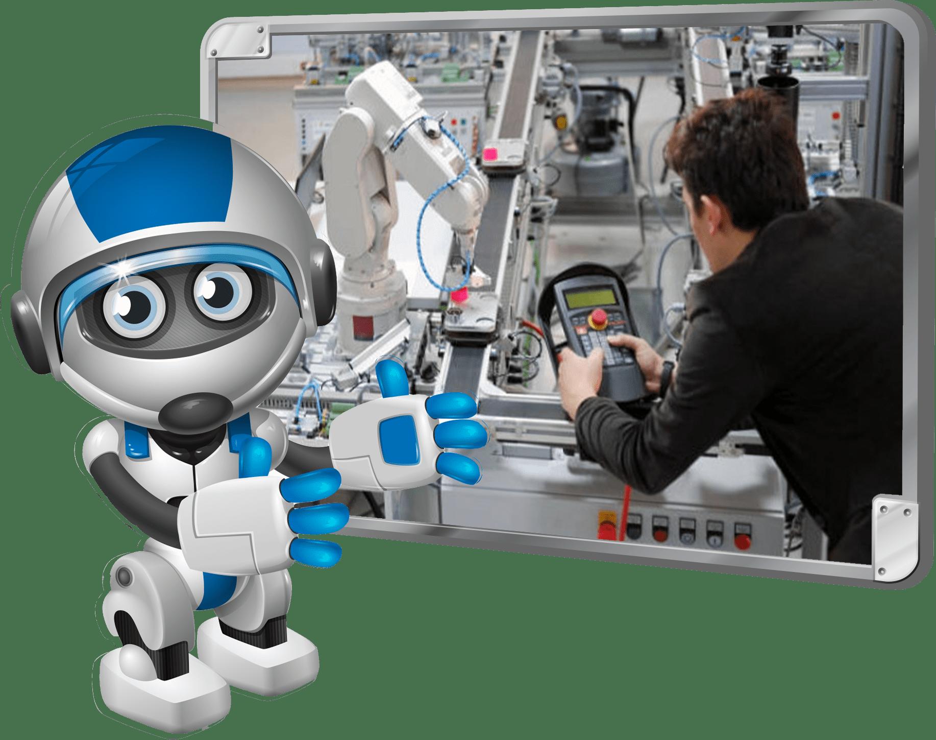 Cheerful Robot 98 minimi - Cursos de Robótica