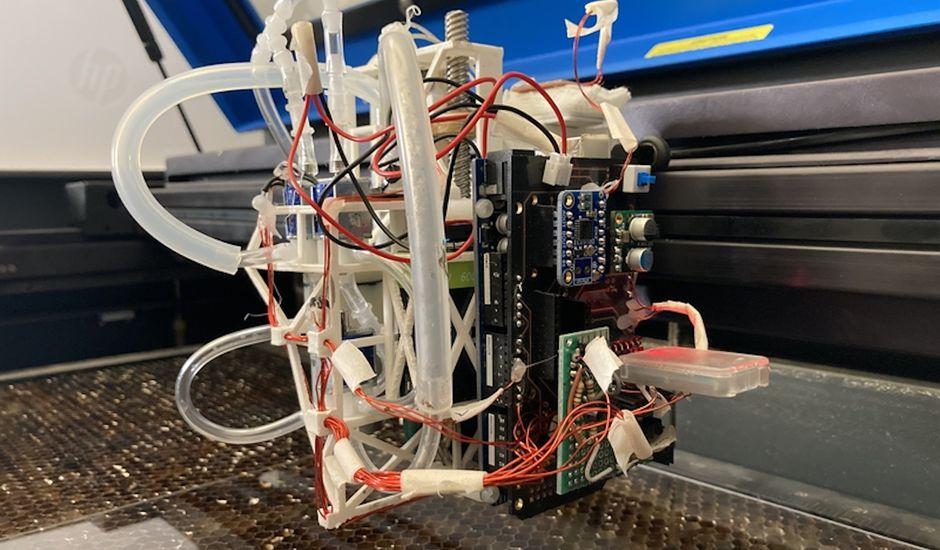 apercu du laserfactory - LaserFactory: la máquina capaz de hacer que los drones y robots funcionen en cuestión de horas