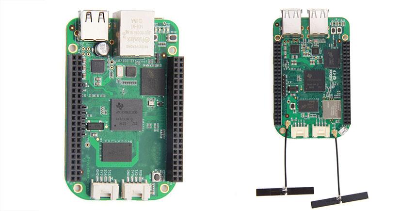beaglebone green y beaglebone green wireless - BeagleBone Green de SeeedStudio, en el punto de mira