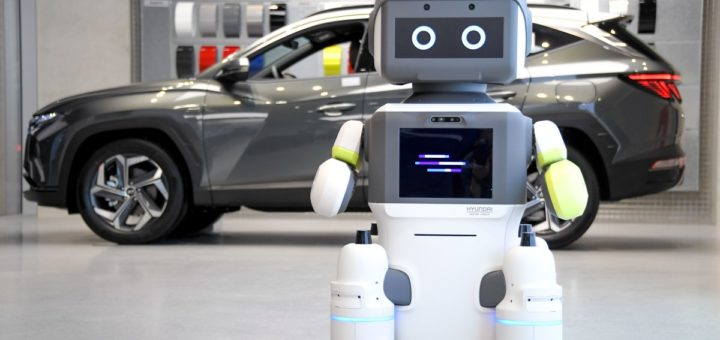 El robot humanoide interactivo DAL-e de Hyundai, ¿llegará pronto a un showroom cerca de ti?