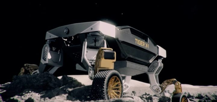 El vehículo conceptual Hyundai TIGER puede rodar o caminar en terrenos desafiantes