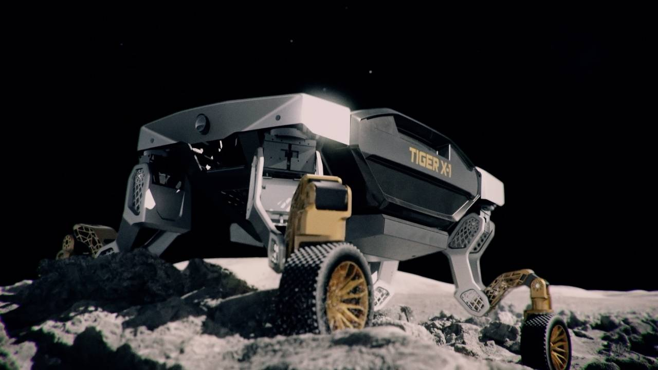 el vehiculo conceptual hyundai tiger puede rodar o - El vehículo conceptual TIGER de Hyundai puede rodar o caminar por terrenos difíciles
