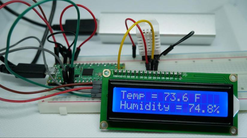 estacion meteorologica pico - Raspberry Pi Pico, análisis e introducción