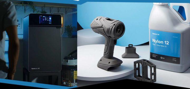 Formlabs Fuse 1 impresiones 3D con material reciclado a (relativamente) bajo precio