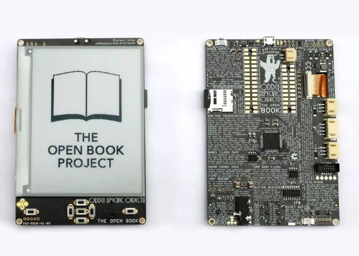 open book diy ereader - El nuevo eReader Open Book DIY será alimentado por Raspberry Pi Pico
