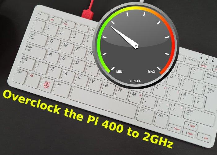 overclocking raspberry pi - Cómo hacer Overclocking a la Raspberry Pi 400 mini PC
