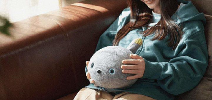 Se supone que el robot Panasonic Nicobo es un gato que puede pedo