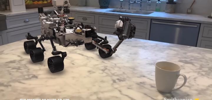 Puedes aterrizar y conducir el Rover de Marte Perseverance de la NASA en RA con la nueva aplicación de Smithsonian Channel