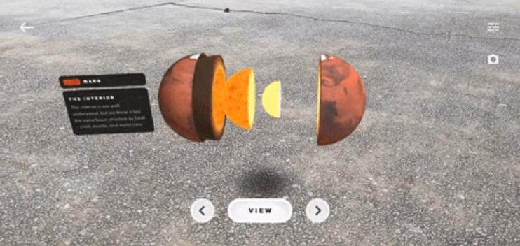 word image 5 - Puedes aterrizar y conducir el Rover de Marte Perseverance de la NASA en RA con la nueva aplicación de Smithsonian Channel