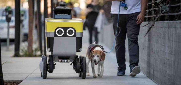 Uber transforma su división de robots autónomos Postmates en una empresa independiente llamada Serve Robotics