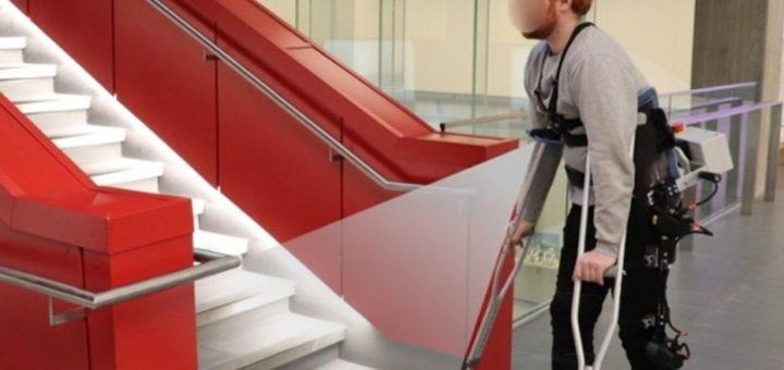 Investigadores desarrollan un exoesqueleto independiente que adapta su marcha a su entorno
