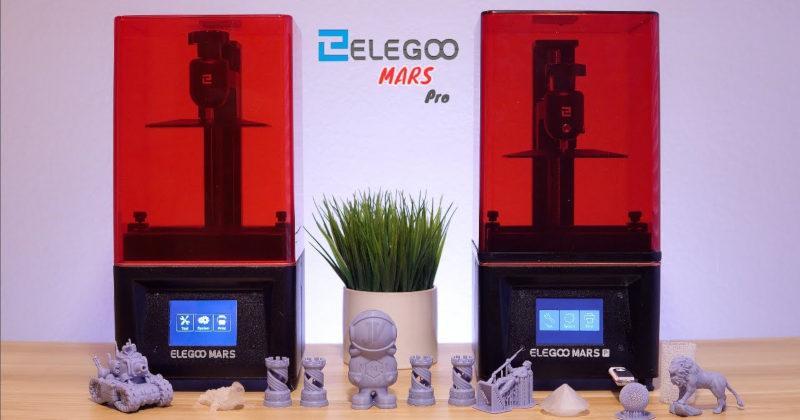 elegoo mars pro - Top Las Mejores impresoras 3D de 2021 para todos los precios