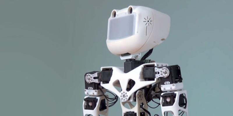robot impreso en 3d de amapola - Por qué la impresión 3D y la robótica son una combinación perfecta