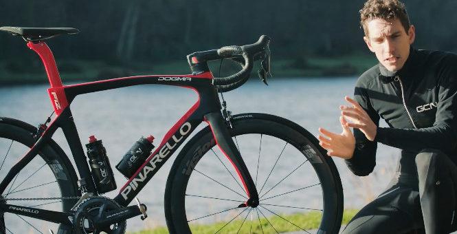 una bicicleta de titanio impresa en 3D