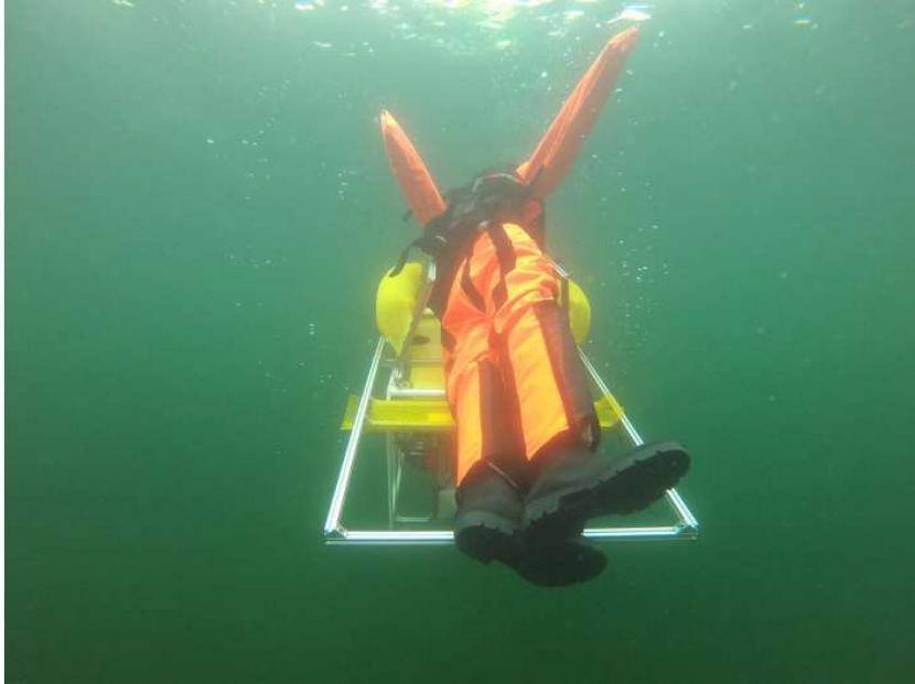 word image - Un robot submarino autónomo que salva a la gente de ahogarse