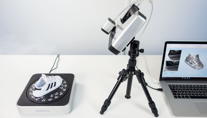 brillante 3d einscan sp - Los 10 mejores escáneres 3D en Todos los rangos de precios