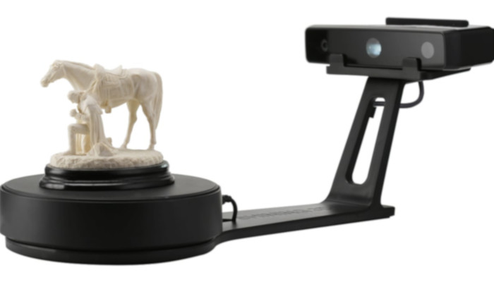 einscan se brillante 3d escaneando un objeto de ca - Los 10 mejores escáneres 3D en Todos los rangos de precios
