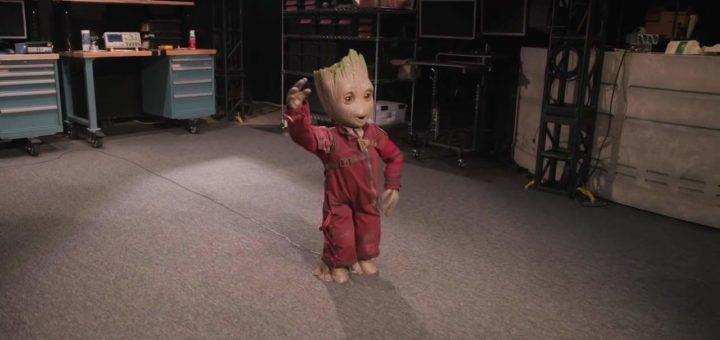 El robot Kiwi del Proyecto Disney da vida al niño Groot
