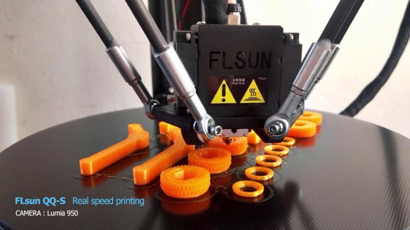 flsun qq s during printing - Las 5 impresoras 3D más rápidas 2021 de todos los precios