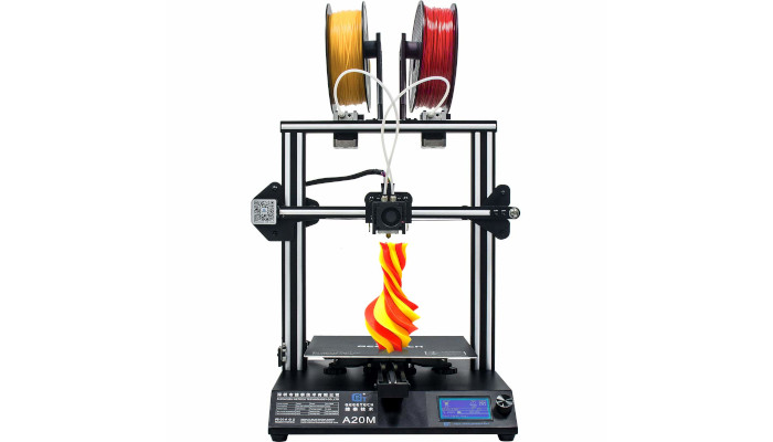 geeetech a20m single nozzle filament mixer - TOP 10, las mejores impresoras 3D de doble extrusión