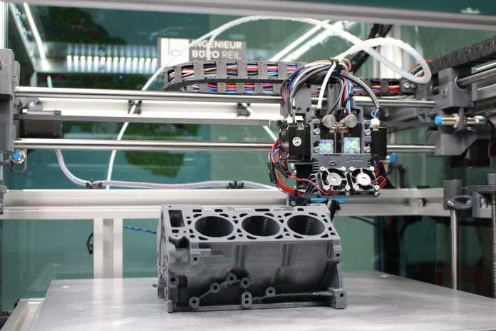 hp - HP y Ford y la reutilización de polvos y piezas impresas en 3D