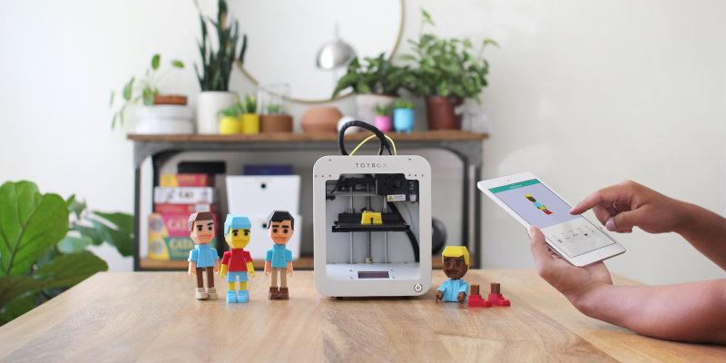 impresora 3d toybox para ninos - Las 8 mejores impresoras 3D para niños en todos los precios