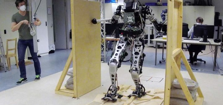 Los robots están aprendiendo a moverse usando locomoción multi-contacto