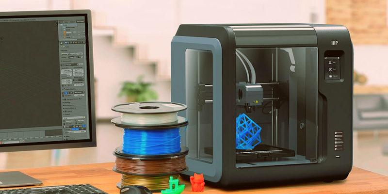 monoprice voxel great 3d printer for kids - Las 8 mejores impresoras 3D para niños en todos los precios