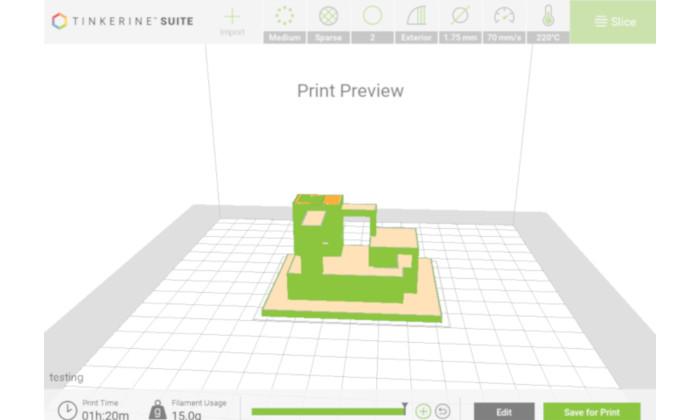 tinkerine suite slicer para la educacion en las es - Slicer 3D: los mejores softwares de corte para Impresión 3D