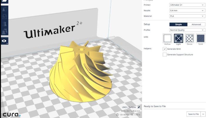 ultimaker cura 3d slicer printer software - Slicer 3D: los mejores softwares de corte para Impresión 3D