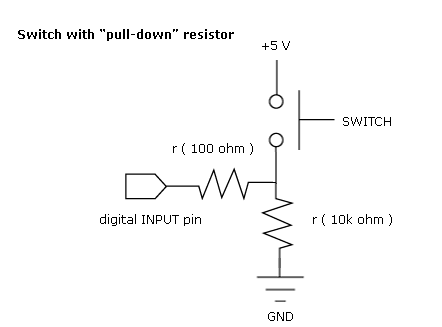 word image 4 - Resistencias pull-up y pull-down en Arduino