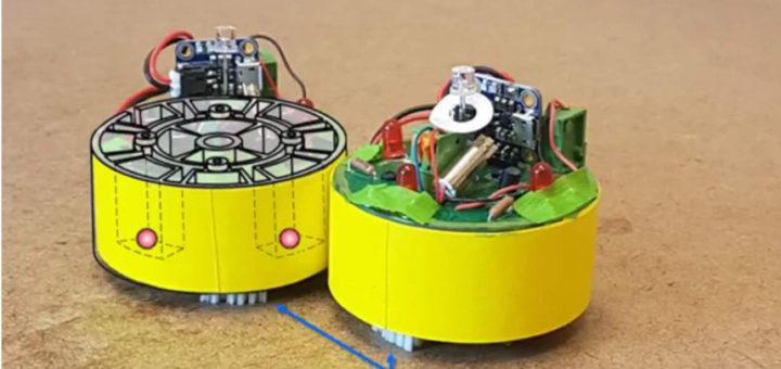 BOBbots son diminutos robots capaces de realizar tareas en equipo
