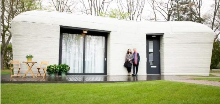 primera casa de Europa totalmente impresa en 3D