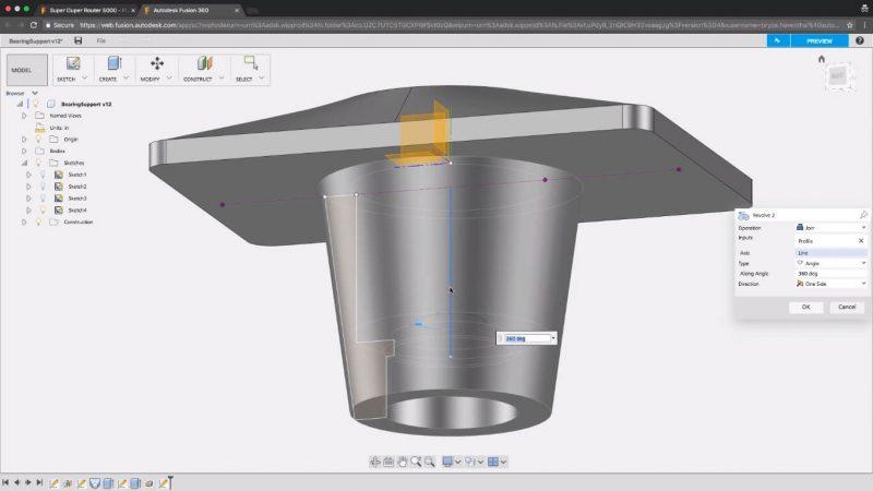 fusion 360 browser - 2021 AutoDesk impresión 3D – Tutorial paso a paso para principiantes