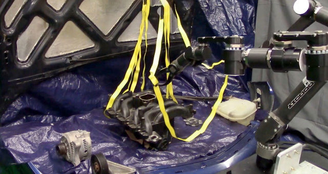 robots aprendan a utilizar materiales blandos como la cuerda