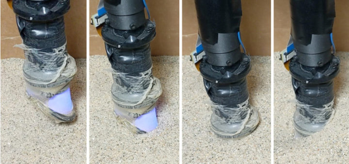 robot para detectar objetos enterrados 720x340 - El MIT desarrolla un dedo robótico capaz de detectar objetos enterrados