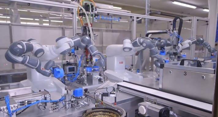 robotica colaborativa y seguridad - Robots colaborativos: qué son y qué hacen