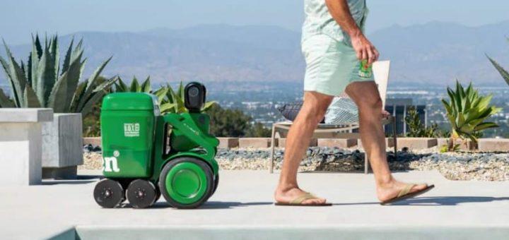 robot heineken para el verano