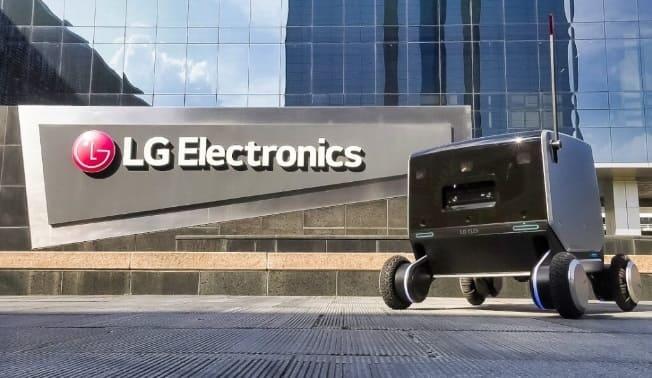 robot lg electronics - ¿Tendrá éxito LG con su nuevo robot de reparto exterior/interior?