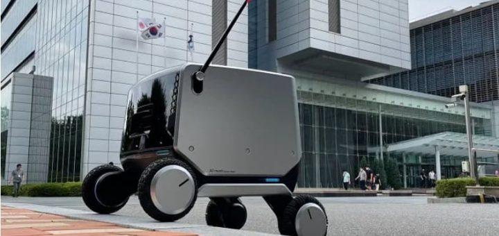 robot repartidor de LG