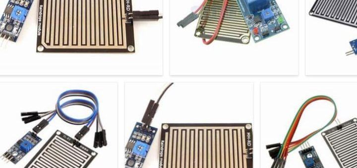 sensor de lluvia Arduino