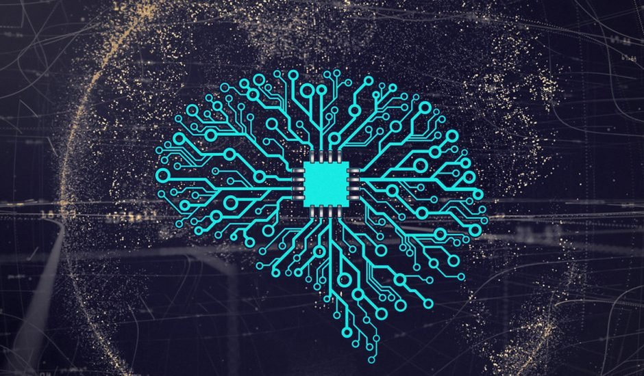 cerveau en circuit imprime sur fond de planete ter - En nombre de la ética, Google, IBM y Microsoft han abandonado sus proyectos de IA