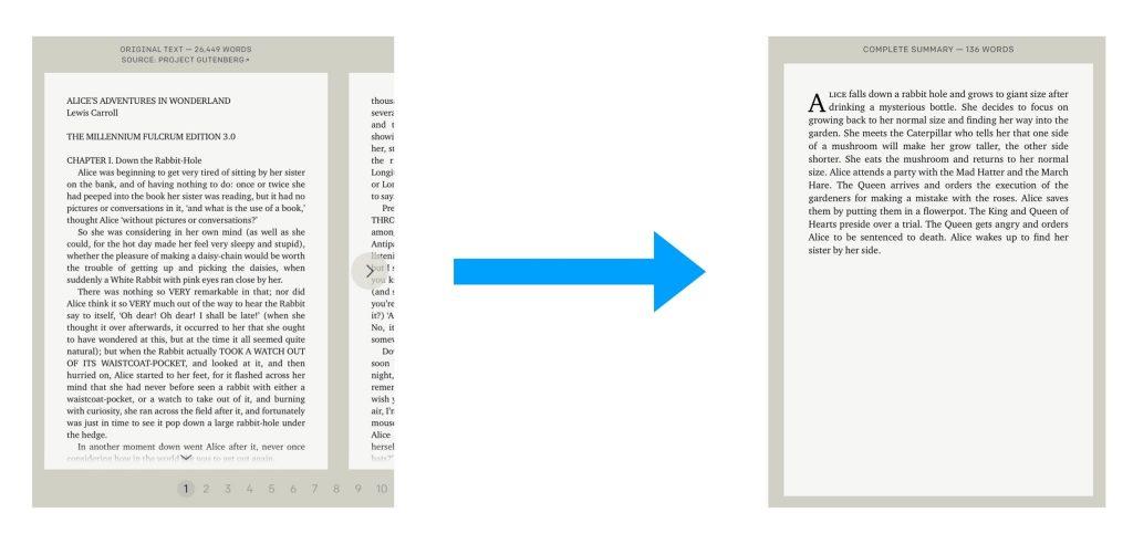 interfaz de usuario grafica descripcion generada 1 - El último modelo de OpenAI puede resumir esos libros tl;dr