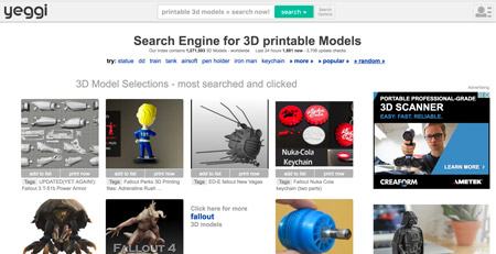 interfaz de usuario grafica sitio web descripcio 2 - Los mejores sitios para descargar archivos STL y modelos 3D gratis para impresión 3D
