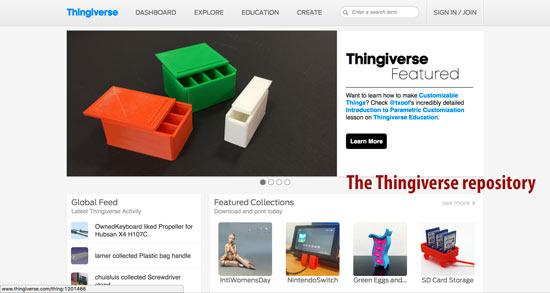 interfaz de usuario grafica sitio web descripcio - Los mejores sitios para descargar archivos STL y modelos 3D gratis para impresión 3D