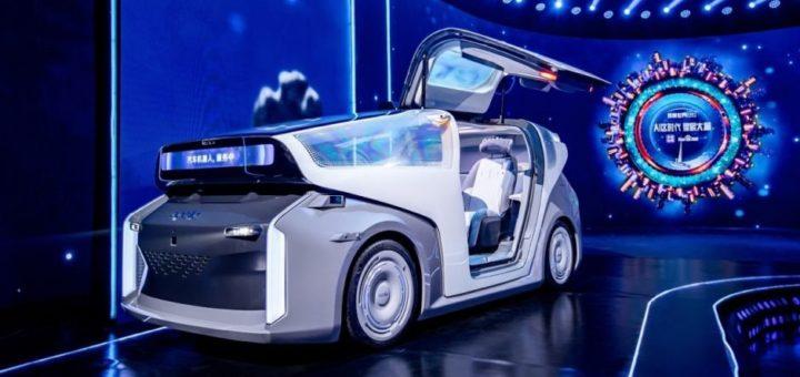 le robocar de baidu pointe le bout de son nez  720x340 - Baidu presenta el Robocar, un vehículo autónomo futurista