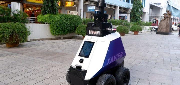Singapur despliega robots en las calles para combatir el comportamiento antisocial