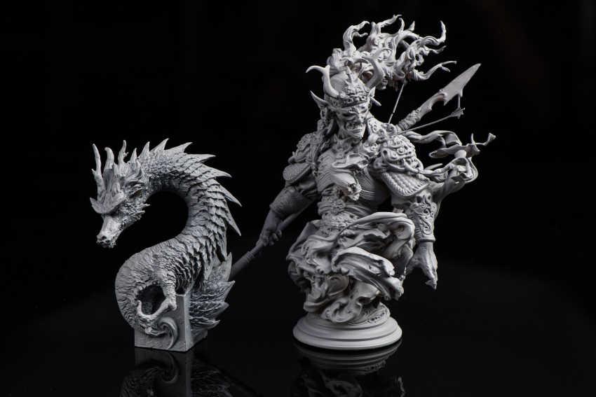 3d printed miniatures - ¿Cuánto cuesta imprimir en 3D? La pregunta del Millón