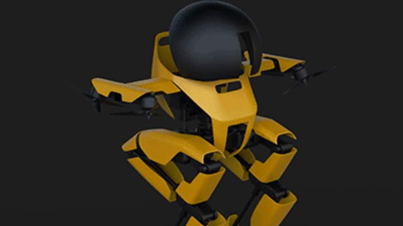 caltechs leonardo bipedal robot can skateboard an - El robot bípedo LEONARDO, de Caltech, es capaz de patinar y mucho más